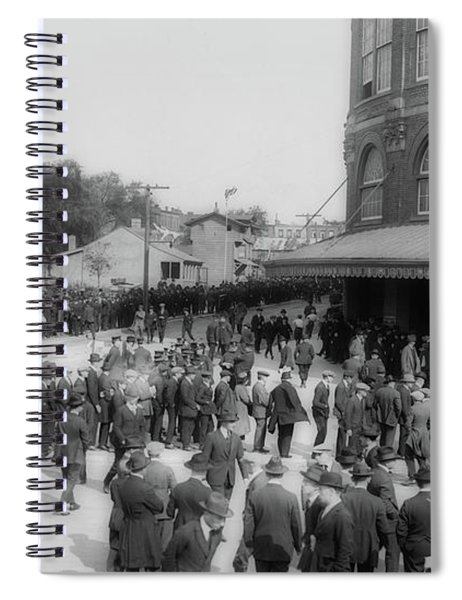 Ebbets Field Crowd 1920 Spiral Notebook