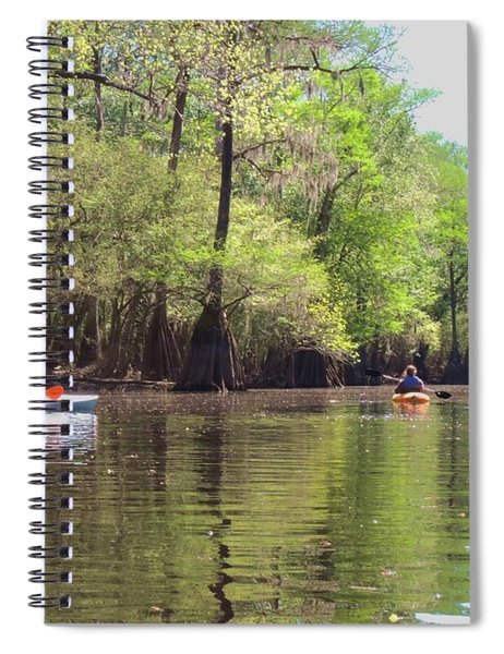 Ebenezer Creek Spiral Notebook