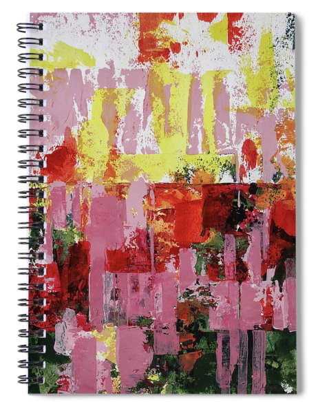 Coneflowers And Sun Spiral Notebook