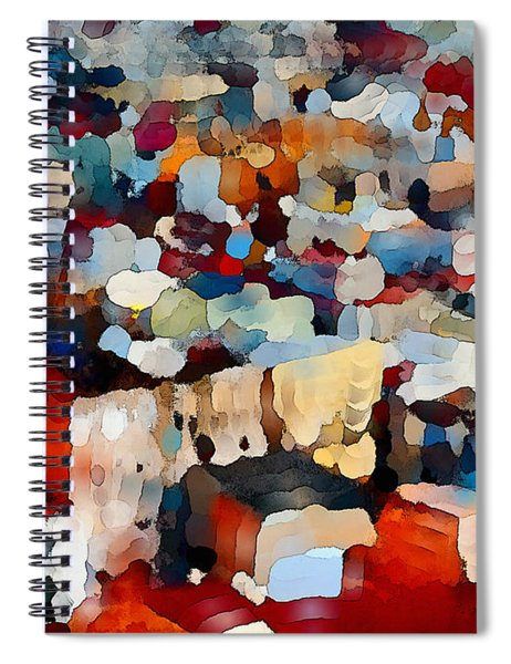 Echoes Of Civilization  Spiral Notebook