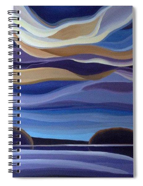 Echos Spiral Notebook