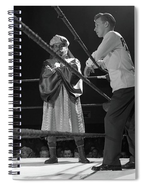 Ed Farhat, Wrestler Known As The Sheik Of Araby, 1952 Spiral Notebook