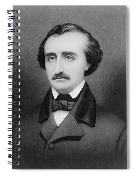 Edgar Allan Poe Portrait Spiral Notebook