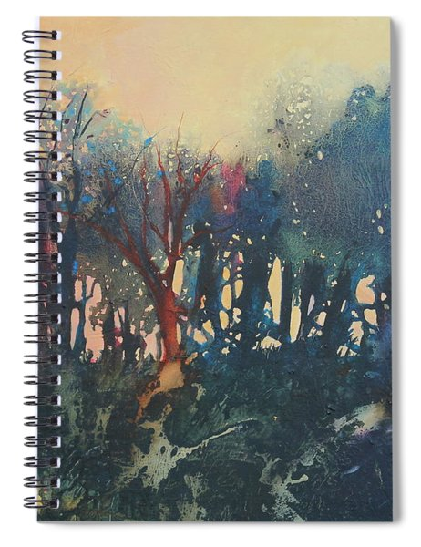 Edge Of The Marsh Spiral Notebook