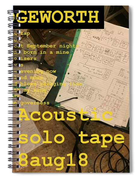Edgeworth Acoustic Solo Tape H Spiral Notebook