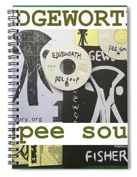 Edgeworth Pee Soup Album Cover Design Spiral Notebook