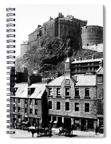 Edinburgh Castle Spiral Notebook