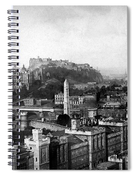 Edinburgh From Calton Spiral Notebook