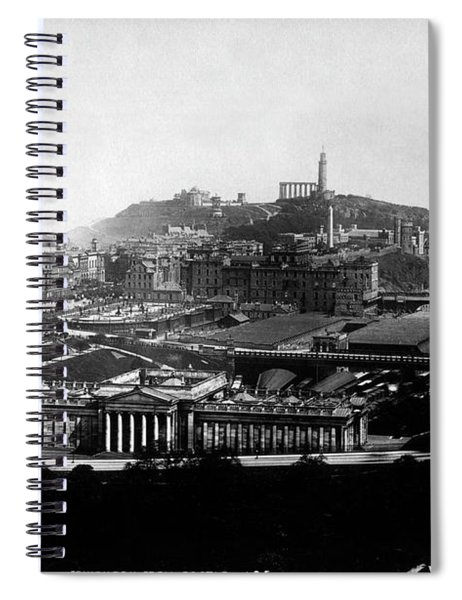 Edinburgh From Castle Spiral Notebook