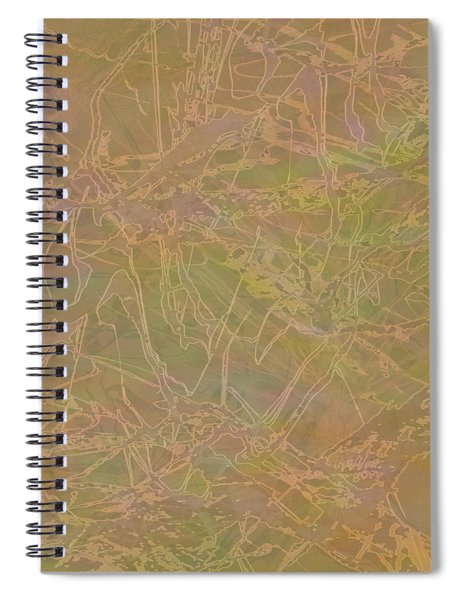 Edition 1 Maudlin Rose Spiral Notebook