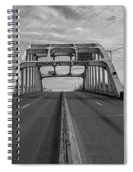 Edmund Pettus Bridge Selma Al Spiral Notebook