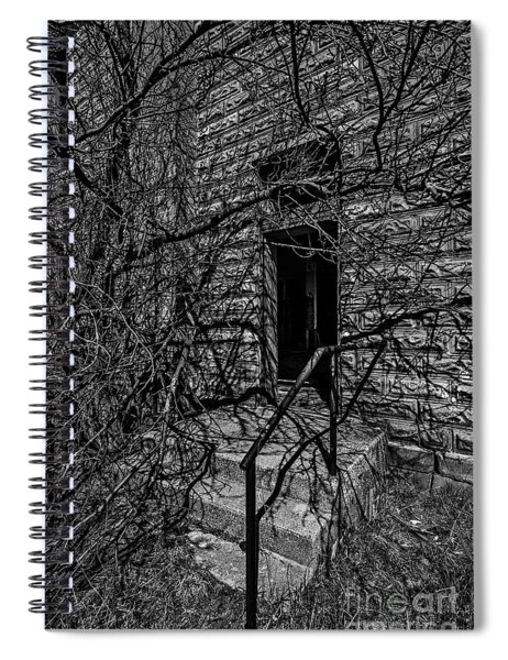 Eerie Entrance To An Old School Spiral Notebook