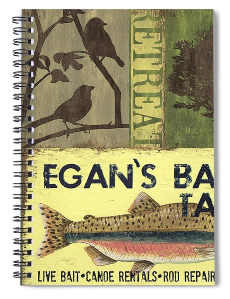 Egan's Bait And Tackle Lodge Spiral Notebook