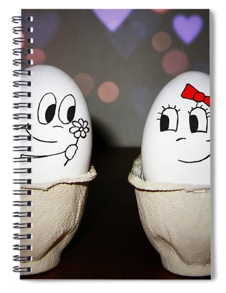 Egg Love Spiral Notebook