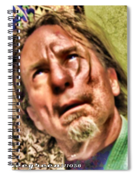 Ego As Tormentor Spiral Notebook