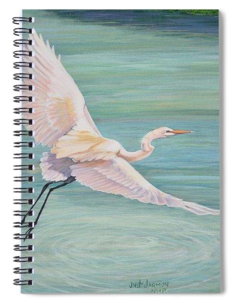 Egret Spiral Notebook