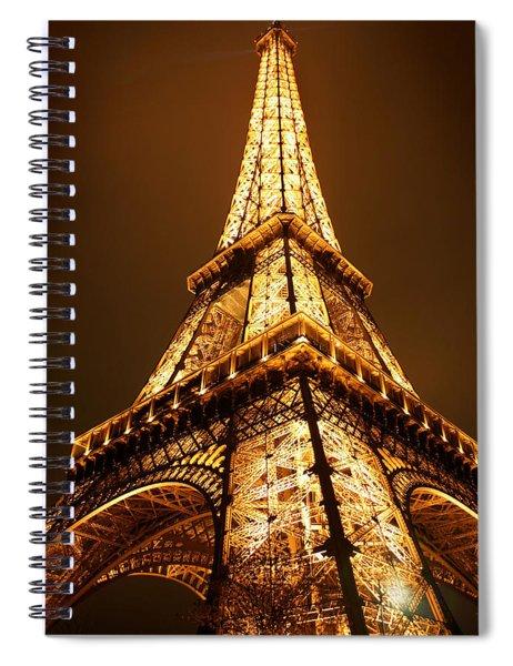 Eiffel Spiral Notebook