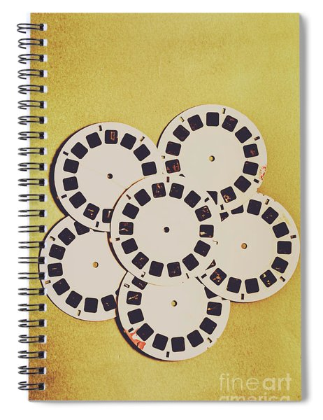 Eighties Playback Spiral Notebook