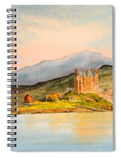 Eilean Donan Castle Scotland Spiral Notebook