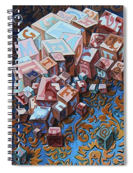 Einstein. Cubes. Op.2767 Spiral Notebook