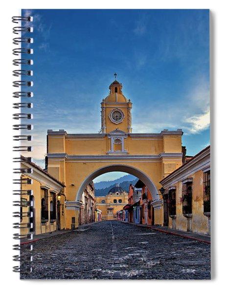 El Arco De Santa Catarina, Antigua, Guatemala Spiral Notebook