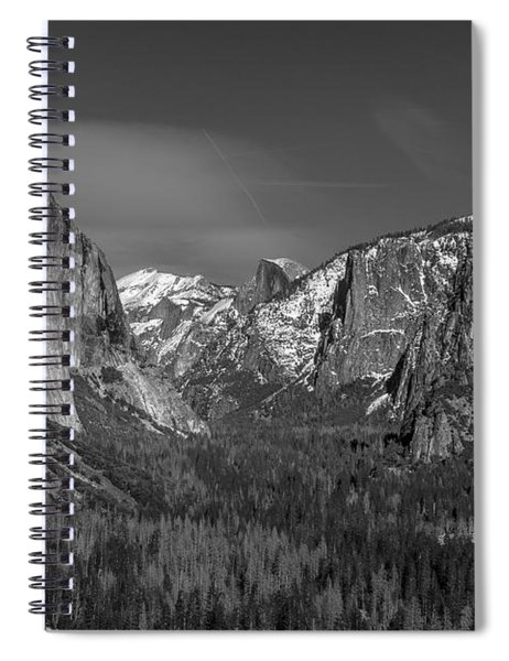 El Capitan And Half Dome Spiral Notebook