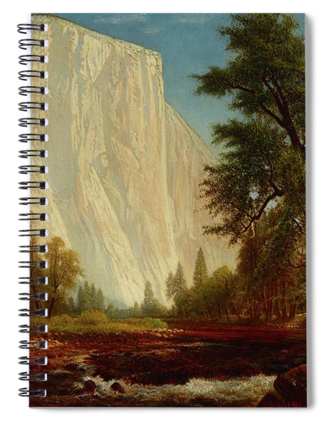 El Capitan In A Gathering Storm Spiral Notebook