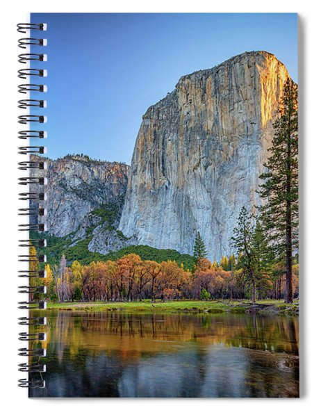 El Capitan Sunrise Spiral Notebook