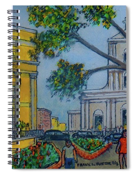 El Convento Hotel And San Juan Church In Old San Juan Puerto Rico Spiral Notebook
