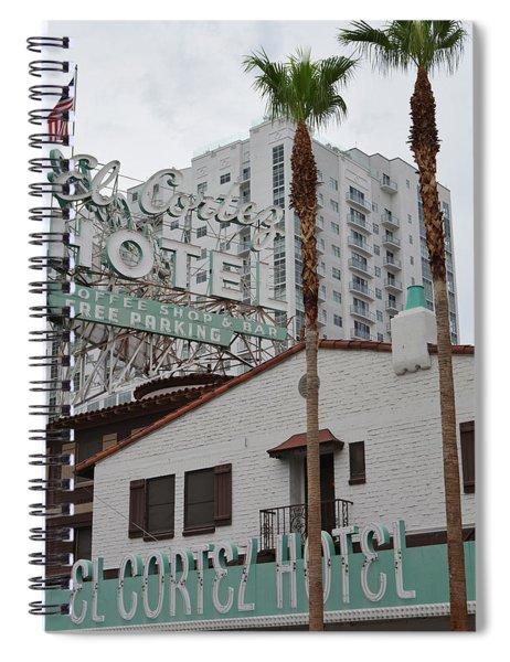 El Cortez Hotel Las Vegas Spiral Notebook