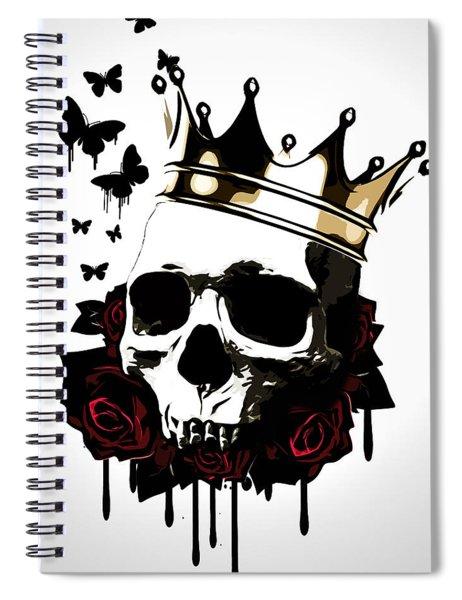 El Rey De La Muerte Spiral Notebook