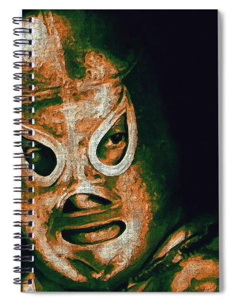 El Santo The Masked Wrestler 20130218 Spiral Notebook