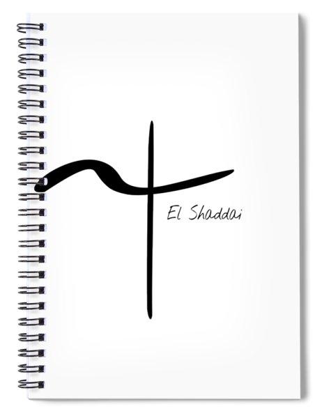 El Shaddai Spiral Notebook