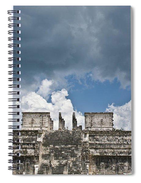 El Templo De Las Columnas  1 Spiral Notebook