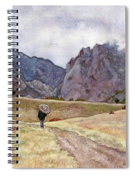 Eldorado Rain Spiral Notebook