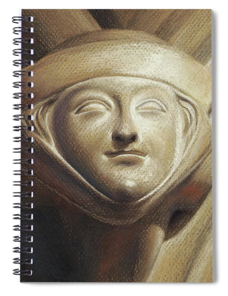 Eleanor Of Aquitaine Spiral Notebook