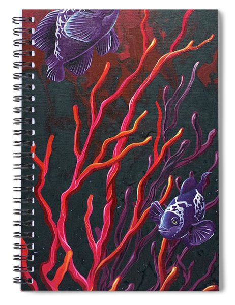 Electric Clown Spiral Notebook