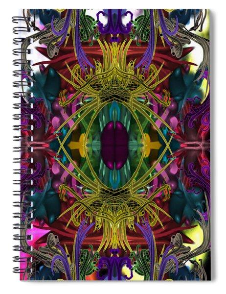 Electric Eye Spiral Notebook