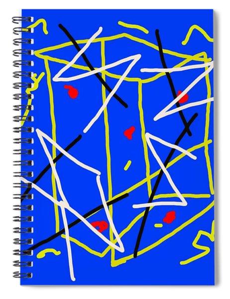 Electric Midnight Spiral Notebook