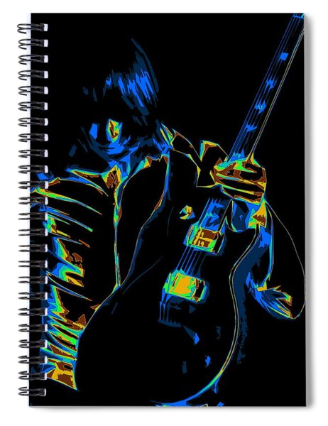 Electric Scholz Spiral Notebook