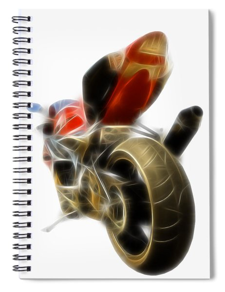 Electric Speed Spiral Notebook