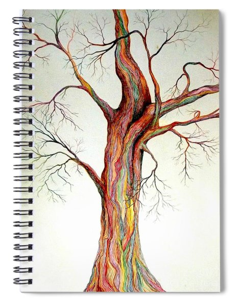 Electric Tree Spiral Notebook
