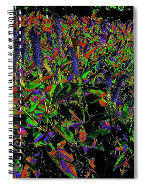 Electric Vision Spiral Notebook