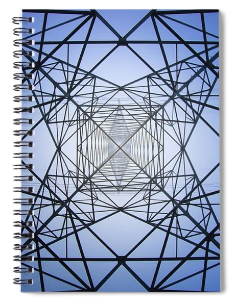 Electrical Symmetry Spiral Notebook
