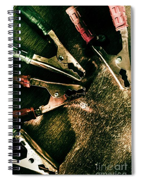 Electrical Workshop Leads Spiral Notebook