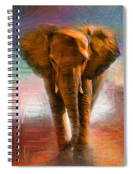 Elephant 1 Spiral Notebook