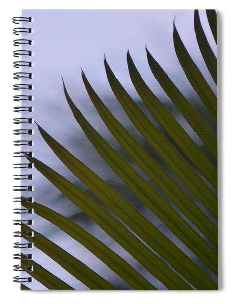 Elegance Of A Palm Spiral Notebook