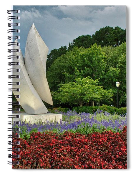 Elements At Avenue Of The Arts Spiral Notebook