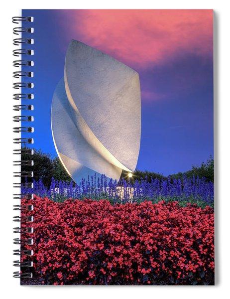 Elements At Christopher Newport University Spiral Notebook