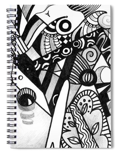 Elements At Play Spiral Notebook